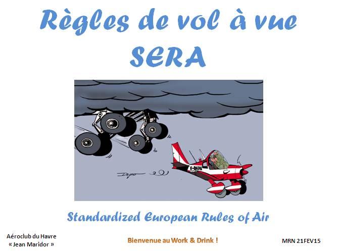 Work & Drink - Réglementation SERA