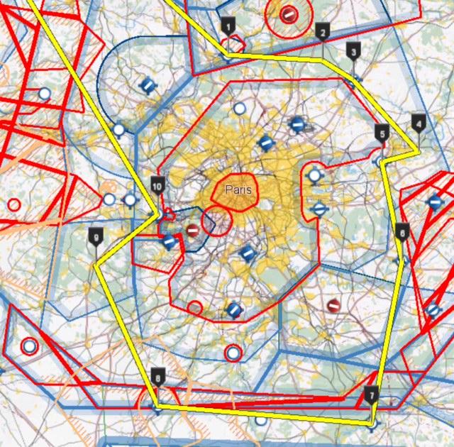 150523 Projet itinéraire Tour de Paris